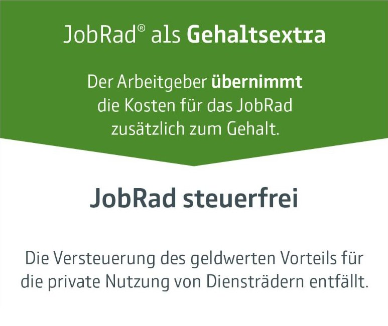 Jobrad - Gehaltsextra